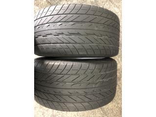 2 GOMAS 255-50-16 GOOD YEAR Puerto Rico Import Tire
