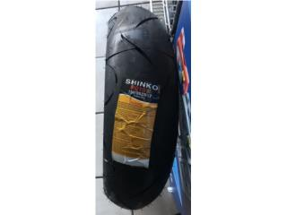 GOMAS NUEVAS MOTORAS 150/60/17 SHINKO Puerto Rico S.R. Battery & Tire