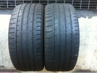 2 GOMAS 255/40/20 CONTINENTAL Puerto Rico Import Tire