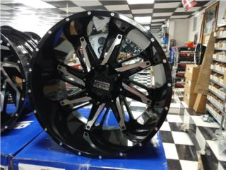22X12 TWISTED WHEELS   Puerto Rico COVER Y MAS COVER