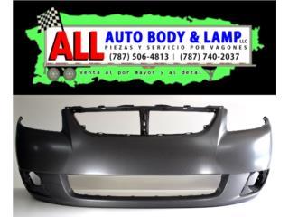 Bumper ORIGINAL Suzuki sx4 Sedan (4pt) 2007 Puerto Rico All Auto Body & Lamp LLC