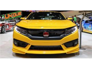 Front Lip Civic 16-18  Puerto Rico UNIQUE AUTO PARTS