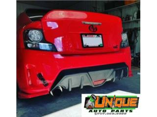 Diffuser Bumper Trasero TC 14-16 Puerto Rico UNIQUE AUTO PARTS