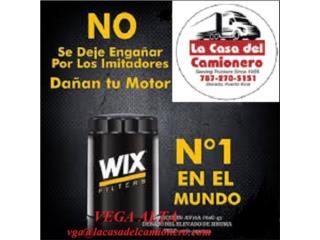 TU EMBARCACION FILTROS WIX EN PUERTO RICO Puerto Rico  La Casa del Camionero