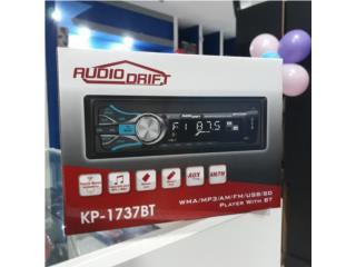 RADIO AUDIO DRIFT KP-1737 (AUX-USB-BT) NO CD Puerto Rico JJ illumination and Accessories
