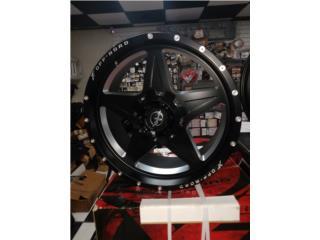 22x10 XF wheels Puerto Rico COVER Y MAS COVER