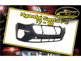 BUMPER Hyundai SANTA FE 17 - 18 Puerto Rico CARZ Body Parts