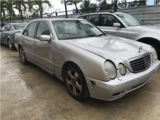 #1380 2002 Mercedes-Benz E-Class E320 Sedan Puerto Rico EURO JUNKER
