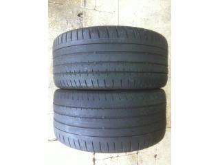 2 GOMAS 255/35/20 CONTINENTAL NITIDAS!!!! Puerto Rico Import Tire