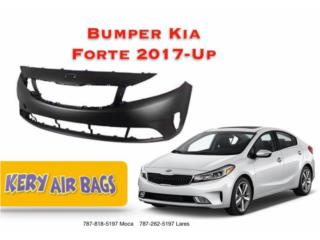 Goma Bumper Kia Forte 17-Up Puerto Rico Kery Air Bags And Body Parts