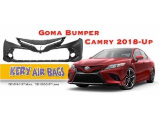 Goma Bumper Camry 2018 Puerto Rico Kery Air Bags And Body Parts