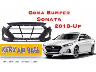 Bumper Sonata 2018 Puerto Rico Kery Air Bags And Body Parts