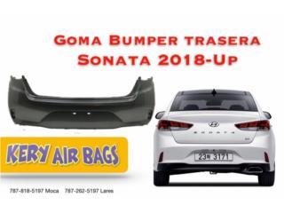Bumper Sonata 2018-Up trasera  Puerto Rico Kery Air Bags And Body Parts