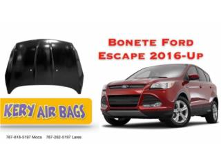 Bonete Ford escape 2016-Up Puerto Rico Kery Air Bags And Body Parts