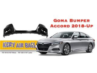 Goma Bumper Accord 18-Up Puerto Rico Kery Air Bags And Body Parts