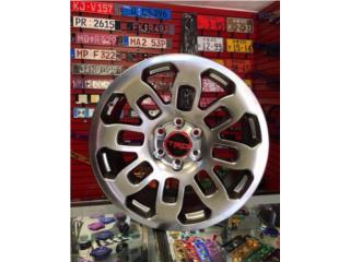 AROS TRD PRO 20x9 NUEVO COLOR HYPER BLACK Puerto Rico JJ Wheels and Tires
