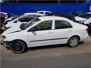 Toyota Corolla 2005 en piezas Puerto Rico Junker Ramos Auto Piezas Inc.