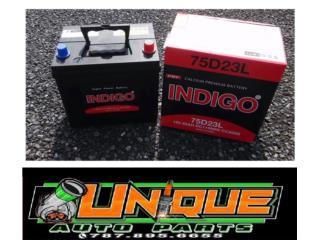 Bateria para Auto Selladas 12V Puerto Rico UNIQUE AUTO PARTS