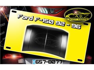 BONETE Ford F-150 1992 - 1996 Puerto Rico CARZ Body Parts