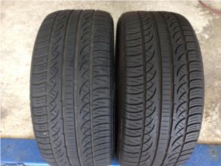 2 GOMAS 245/40/18 PIRELLI P ZERO NERO Puerto Rico Import Tire