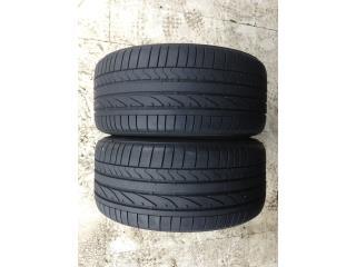 2 GOMAS 245/35/18 BRIDGESTONE RUN FLAT Puerto Rico Import Tire