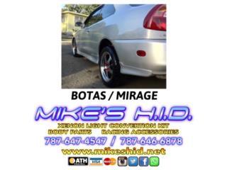BOTITAS TRASERAS MIRAGE 97 - 01 Puerto Rico MIKE'S H.I.D.
