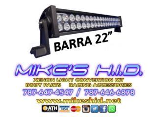 BARRA LED DOBLE 22 Puerto Rico MIKE'S H.I.D.