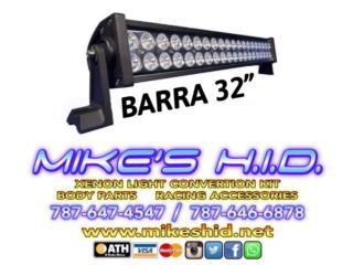 BARRA LED DOBLE 32 Puerto Rico MIKE'S H.I.D.