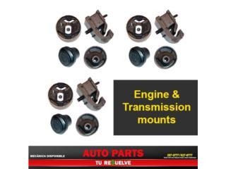 4 Soportes de Motor  Toyota Yaris 06-12 Puerto Rico Tu Re$uelve Auto Parts