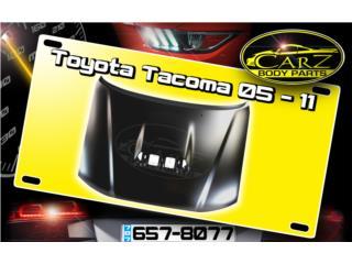 BONETE (Scoop) Toyota TACOMA 2005 - 2011 Puerto Rico CARZ Body Parts