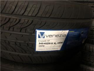 245/45/18 GOMAS NUEVAS VENEZIA $80.00 Puerto Rico JR TIRE, INC
