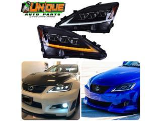 Focos Triple Proyectores Lexus IS 06-13 Puerto Rico UNIQUE AUTO PARTS