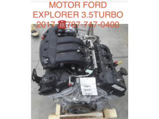 MOTOR FORD EXPLORER 3.5 TURBO  Puerto Rico CORREA AUTO PIEZAS IMPORT
