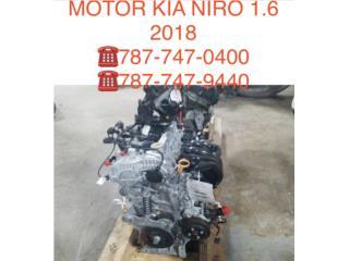 MOTOR KIA NIRO 1.6  Puerto Rico CORREA AUTO PIEZAS IMPORT