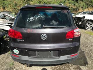 #1352 2016 Volkswagen Tiguan Puerto Rico EURO JUNKER
