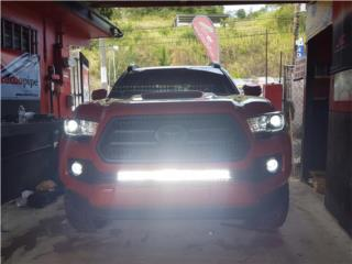 TACOMA 2005-2020 BARRAS LED TODO TIPO Puerto Rico MUSIC ON AUTO ACCESSORIES INC.