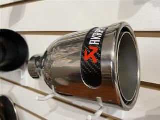 Tip Stainless y Carbon Puerto Rico RM PERFORMANCE WORKS