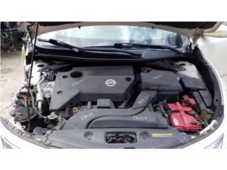 13029 Nissan Altima 2015 2.5L Transmision AT  Puerto Rico JUNKER BERNIRD