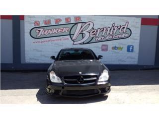 13076 Mercedes CLS 500  2006 Bumper Delantero Puerto Rico JUNKER BERNIRD