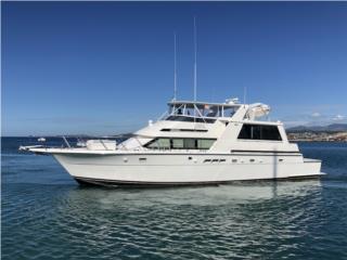 Hatteras 52 Cockpit Motor Yacht 1997 Puerto Rico