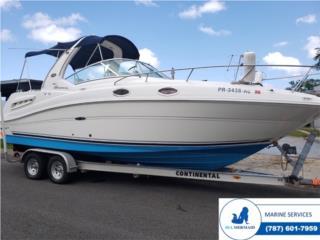 Sea Ray 260 '05- Merc MPI 350, Loaded trailer Puerto Rico