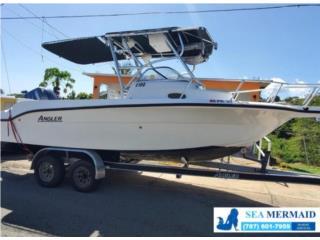 Angler 2100 '05- Yamaha F/Stkes 150HP trailer Puerto Rico