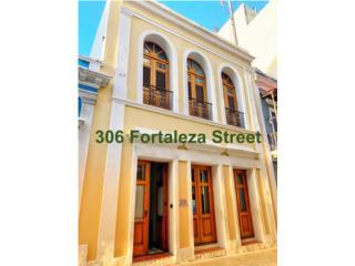 Alquiler 306 Fortaleza | 2,500 sqft | Prime Commercial, San Juan - Viejo SJ Puerto Rico