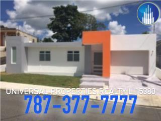 CASA NUEVA - TODO NUEVO - SOLO UNA, San Lorenzo Real Estate Puerto Rico