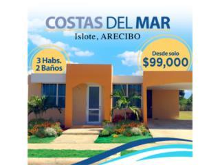 Casas amplias, modernas en Islote, Arecibo $99 Mil, Arecibo Real Estate Puerto Rico