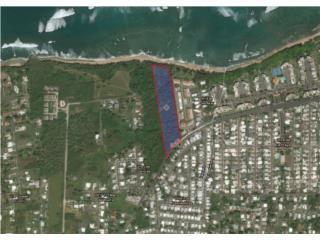 Bienes Raices Vacant Oceanfront Lot Vega Baja - FOR SALE  Puerto Rico