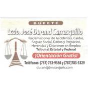 Abogados Bufete Lcdo. José Durand Carrasquillo Puerto Rico