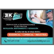 EK ELECTRICAL GENERATOR SRVICE Puerto Rico