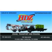 HDZ TOWING INC. Puerto Rico