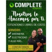 Complete Services, Category en MajorCategory cubirendo Río Grande